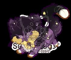 O-0410 Black Moon Liquorice by SooshDatabase
