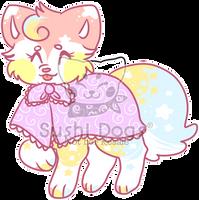 M-0021 Rainbow Bunny Peep Cake by SooshDatabase