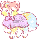 M-0021 Rainbow Bunny Peep Cake