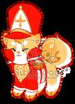 G-0117 Golden Nutcracker Christmas Cake