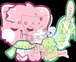 M- Watermelon x Kiwi Popsicle by SooshDatabase