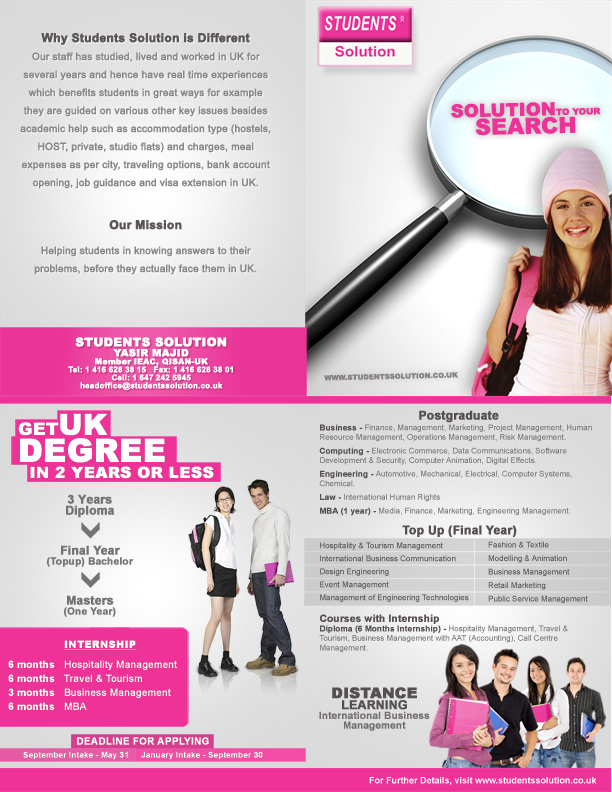 Student Solutions by khurram-cr8ive