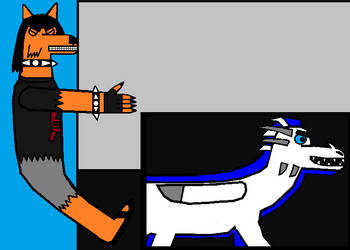 Blake crashes into a wall while riding Niveis by CyberCodex888