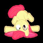 Apple Bloom upside down