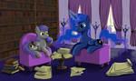 Coffee with Princess Luna
