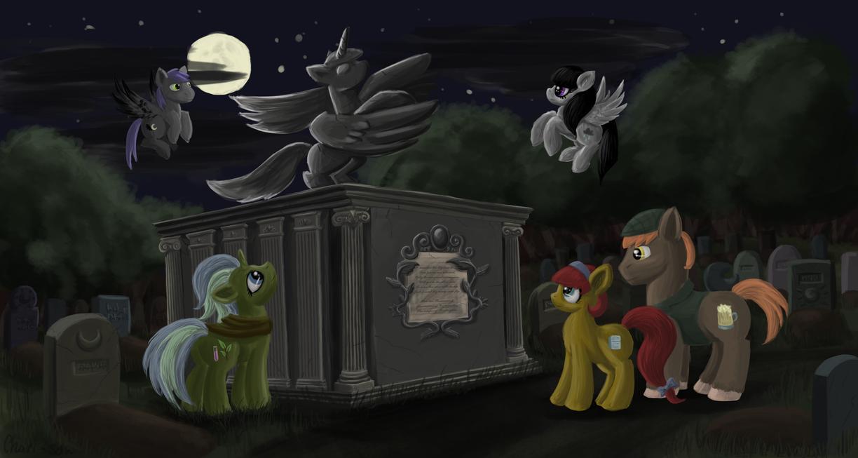 Cemetery by chari-san