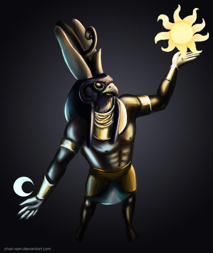 Horus by chari-san