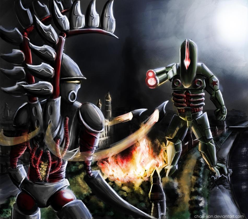 Mech Duel by chari-san