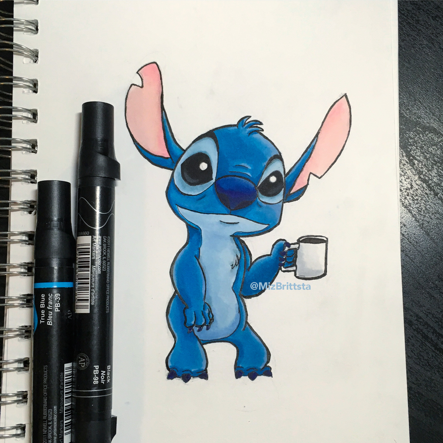 Coffee Stitch by MizBrittsta