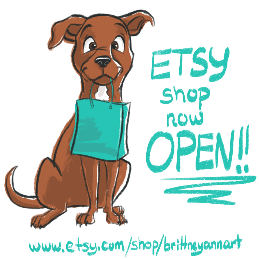 New Etsy Shop! by MizBrittsta