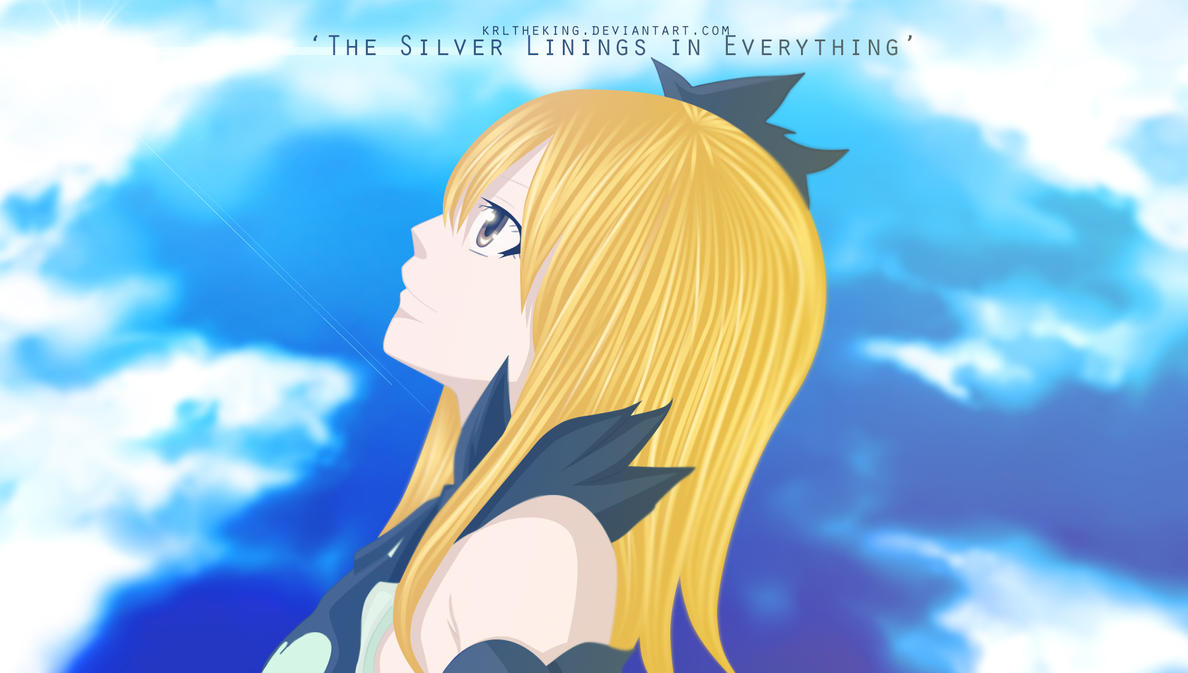 Fairy Tail Lucy Cries In The Broken Glass