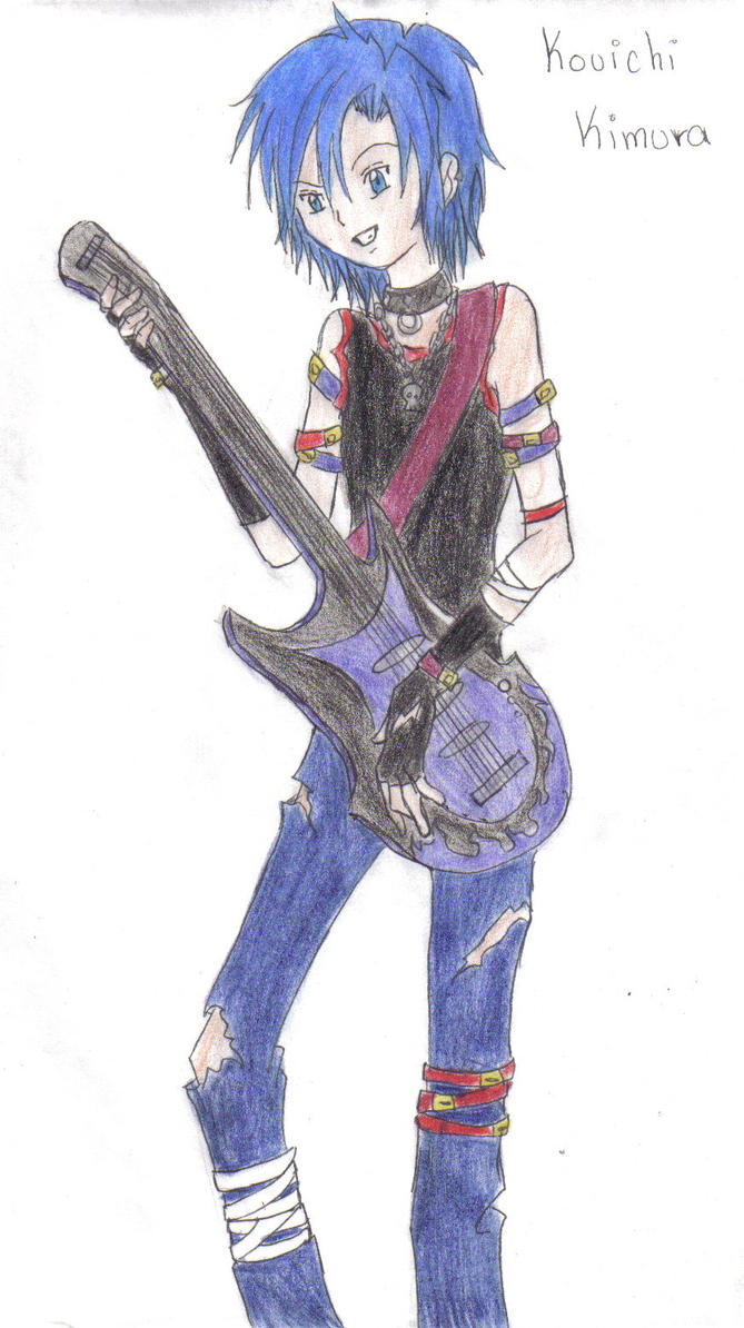 Kouichi Kimura The Rockstar By Khryztal Dark On Deviantart
