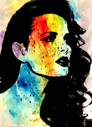 Lady In Color by Ayon-Azad
