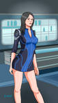 Mass Effect 3 Ashley Williams by Flow4Master