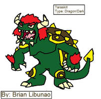 Fakemon: The Mighty Tarasque by Brian12