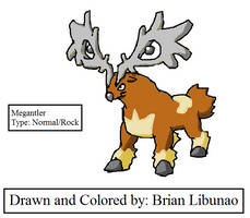 Contest entry: Stantler evo by Brian12