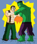 Mike Haggar VS Hulk