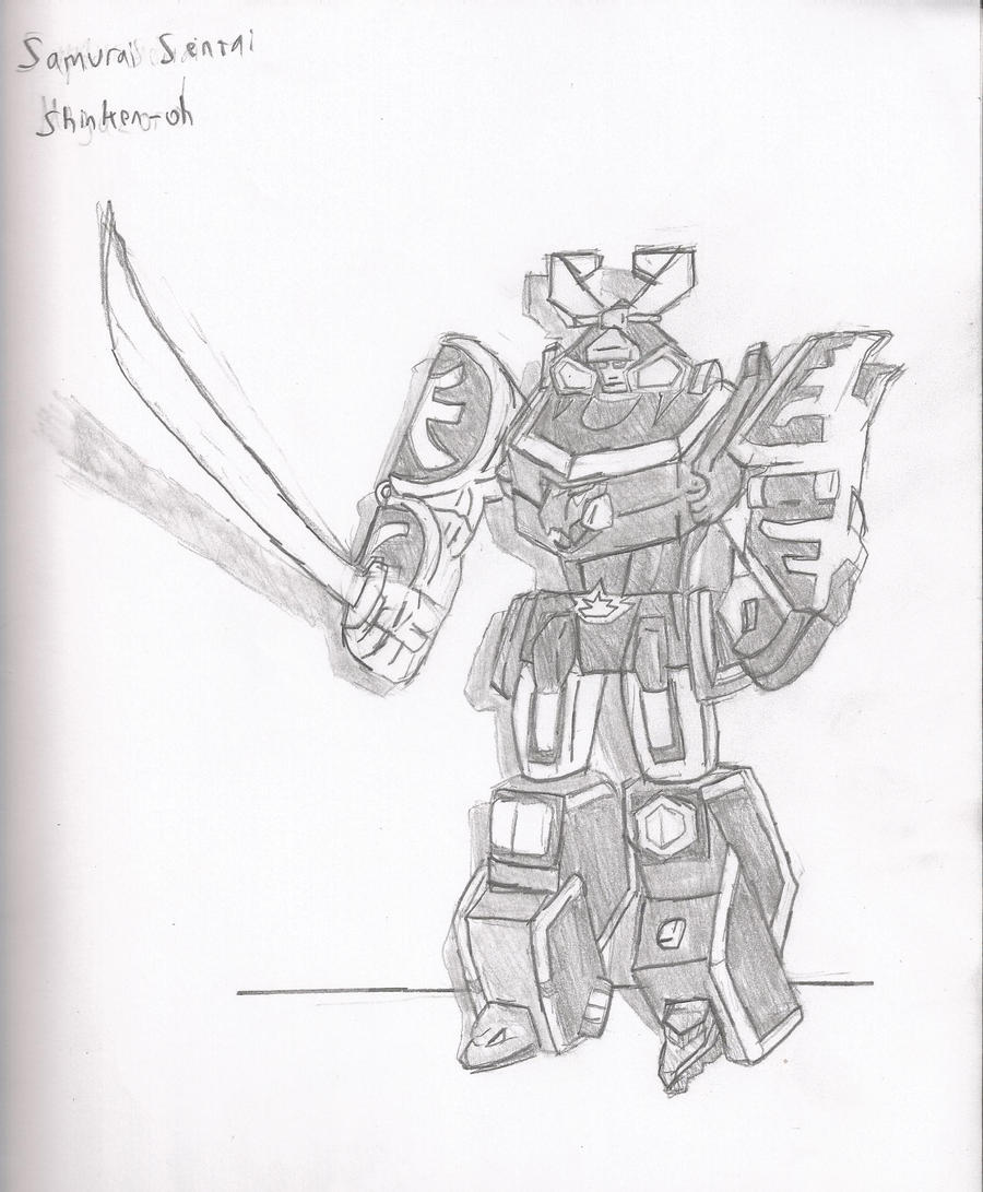 samurai megazord by brian12 on deviantart