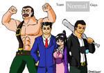 UMVC3: Team NORMAL guys