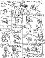 C.O.D. Zombies comic: The flying mystery box by Brian12