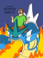 TBFP: Pat and his GYARADOS by Brian12