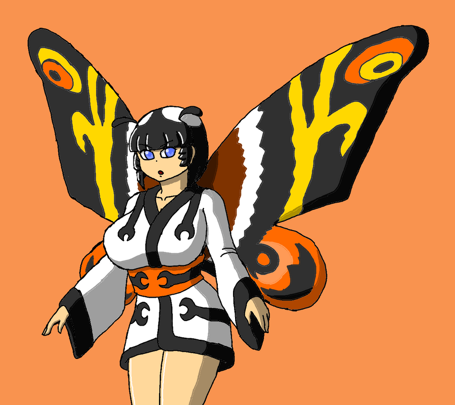 Mothra-tan by Brian12