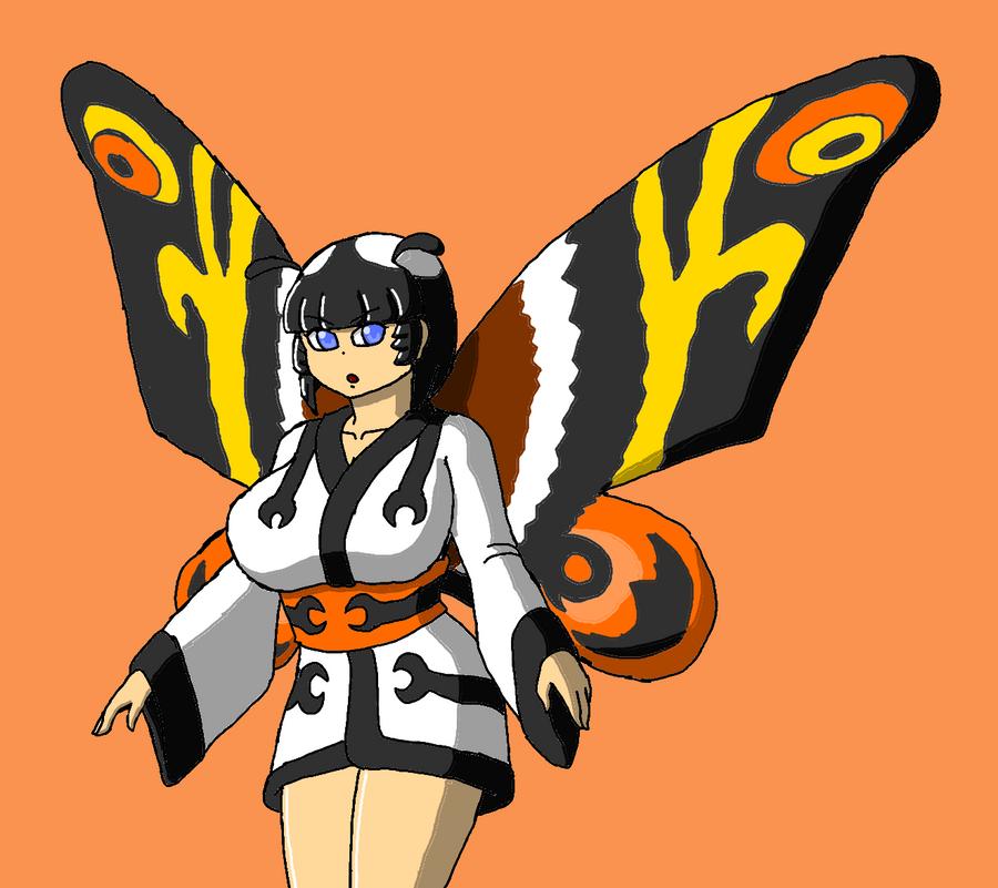 Mothra-tan by Brian12
