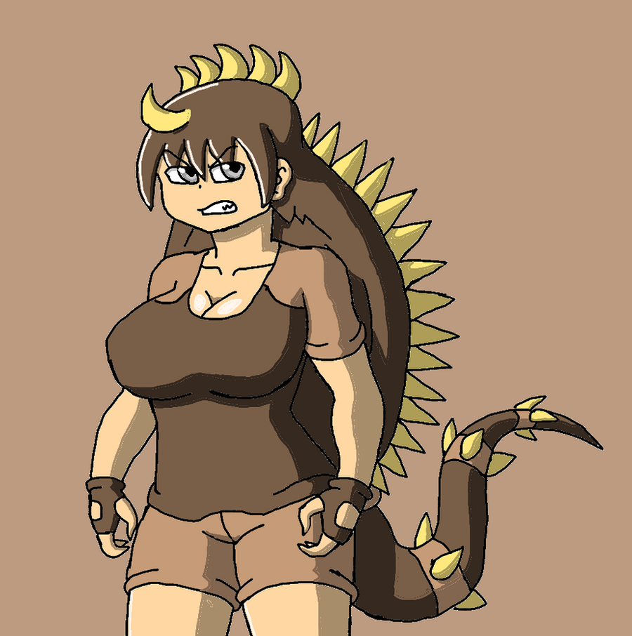 Anguirus-tan by Brian12