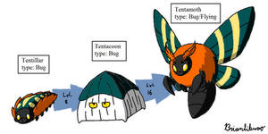 Fakemon: Tent making bugs