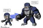 Fakemon: Wrestling Simians