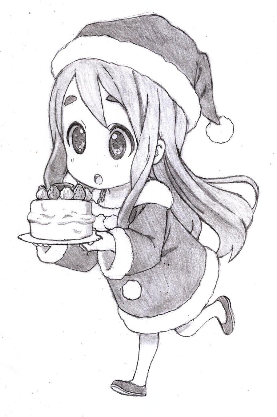K-On! Christmas Chibi Mugi-chan By Brian12 On DeviantArt