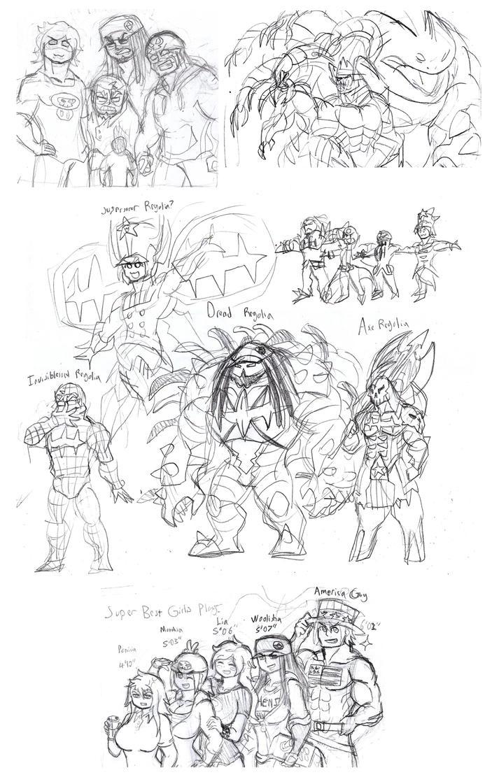 TBFP Sketch Dump by Brian12