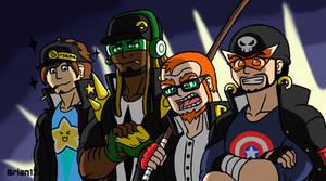 MPBAA: The Best Friends Zaibatsu Gang by Brian12