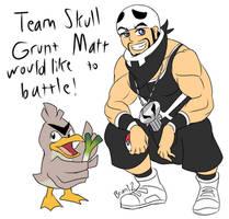 TBFP: Team Skull Grunt Matt by Brian12