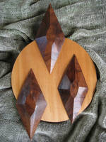 Rarity cutie mark in wood by fitzroysuperville