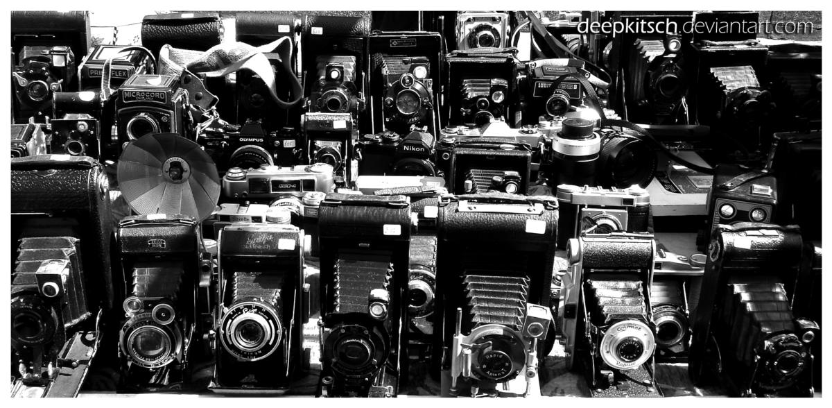 Cameras by deepkitsch