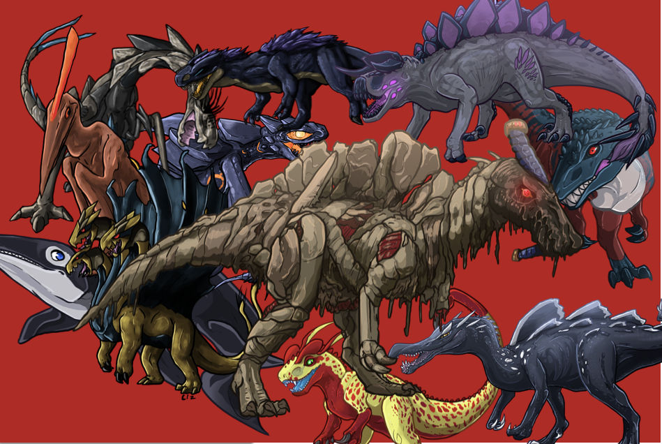 Roblox Dinosaur Simulator Concept Banner By Monstermasher137 On