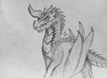 Firedrake (Dale) by MonsterMasher137
