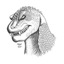 GMK Godzilla by MonsterMasher137