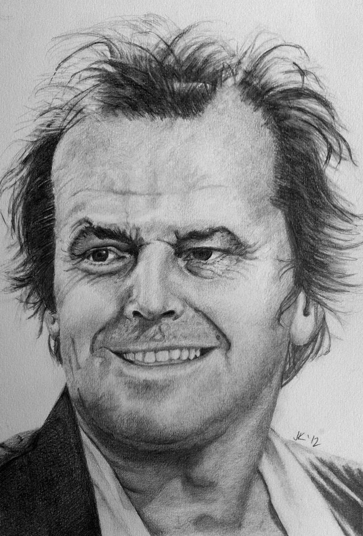 Jack Nicholson by JaneyArt