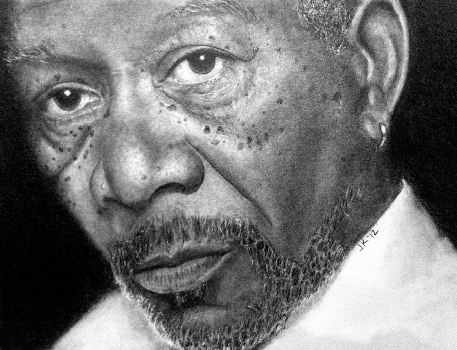 Morgan Freeman by JaneyArt