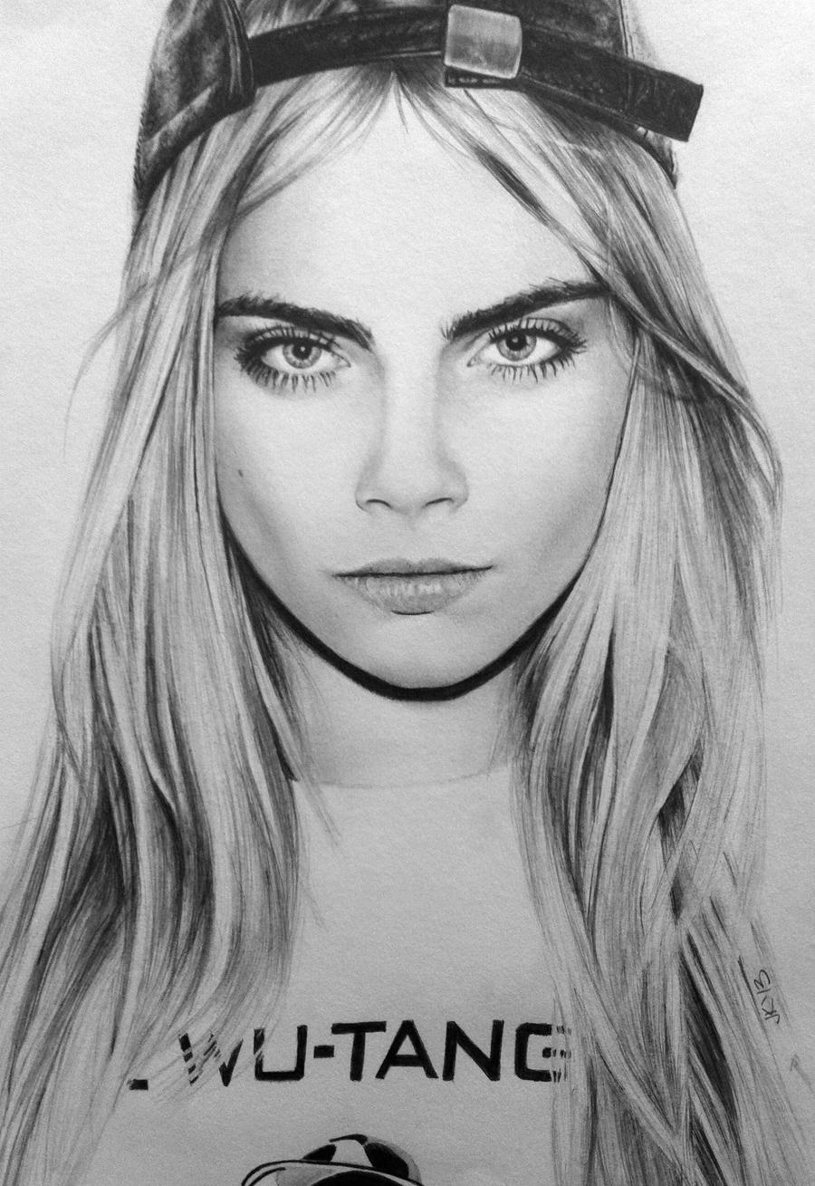 Cara Delevingne by JaneyArt