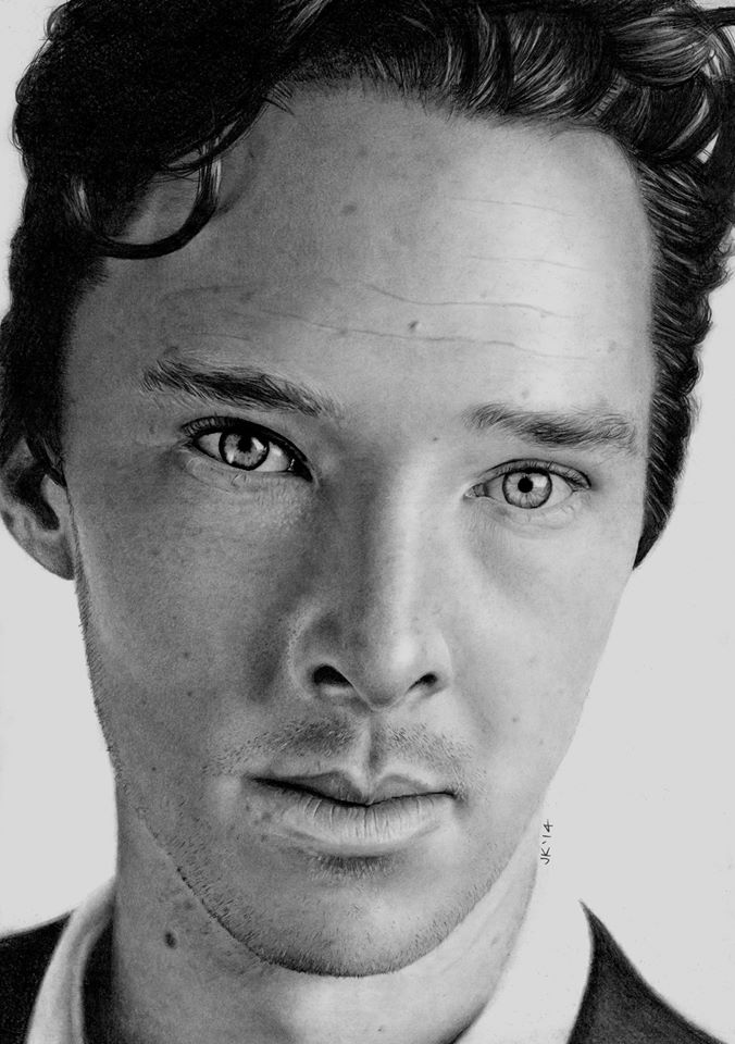 Benedict Cumberbatch by JaneyArt