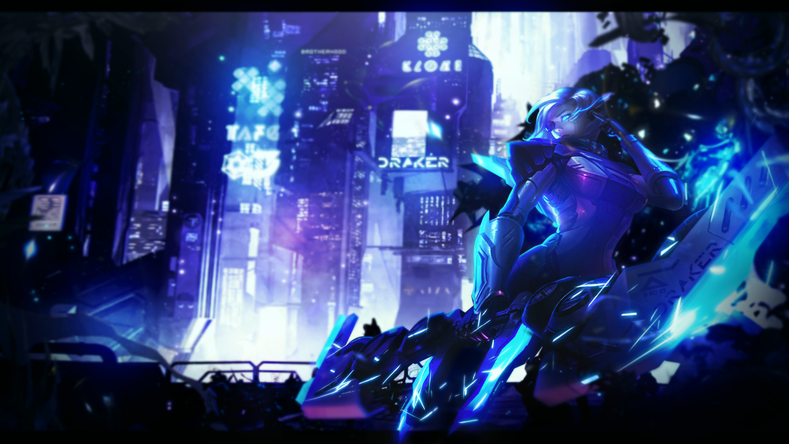 League Of Legends Project Ashe Wallpaper By DeyKyra