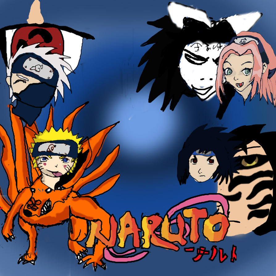 Naruto Squad 7 By Sonic-boom-drake On DeviantArt