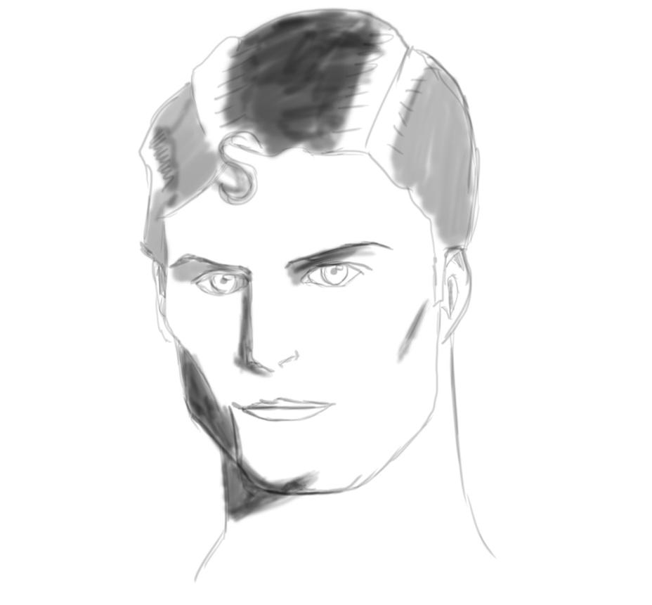 Christopher Reeve by artyvicky