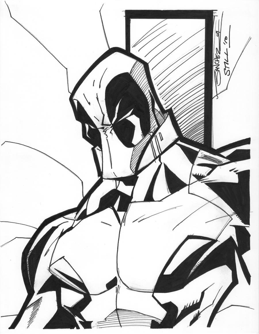 Deadpool by Steven Sanchez by Crausse