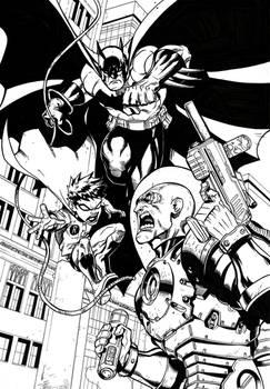 Batman and Robin vs. Mr. Freeze