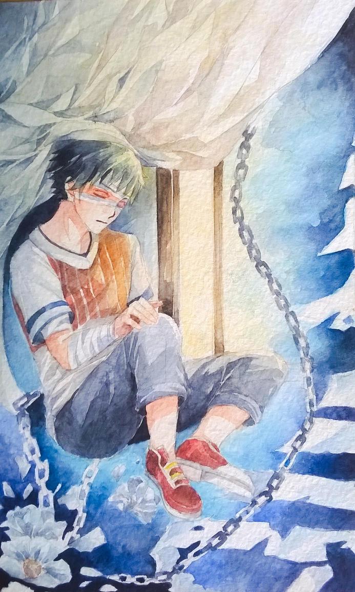 Sleeping by Denkikun