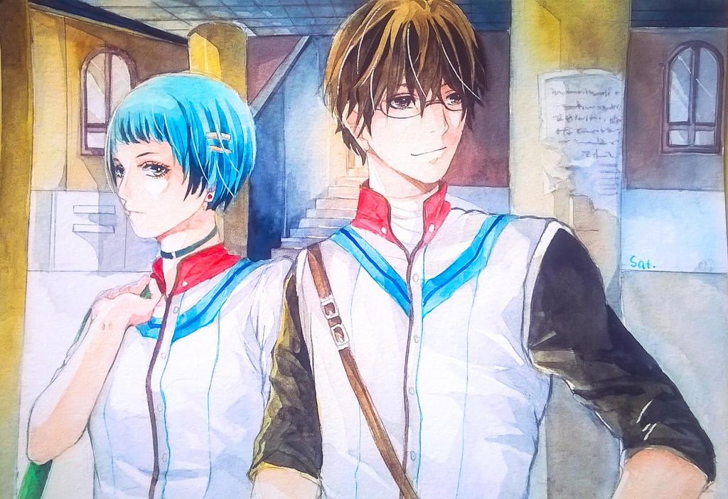 The pupils by Denkikun